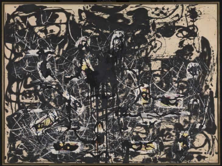 Jackson Pollock, Yellow Islands, 1952