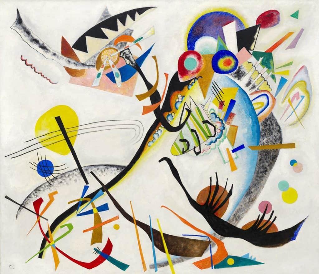Blue Segment (1921) by Wassily Kandinsky