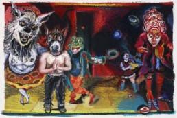 Fairy Tales art - Natalie Frank, Endpaper Villains