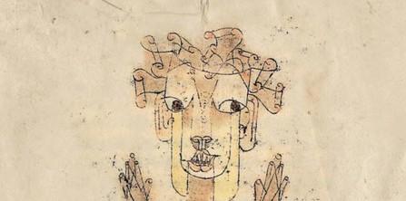 Angelus Novus detail