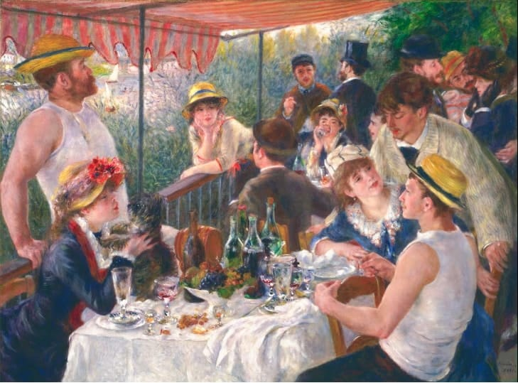 Pierre-Auguste Renoir, Luncheon of the Boating Party, 1880-81