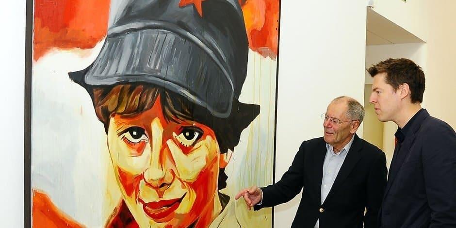 Sympatische Kommunistin / Likeable Communist Woman (artwork)