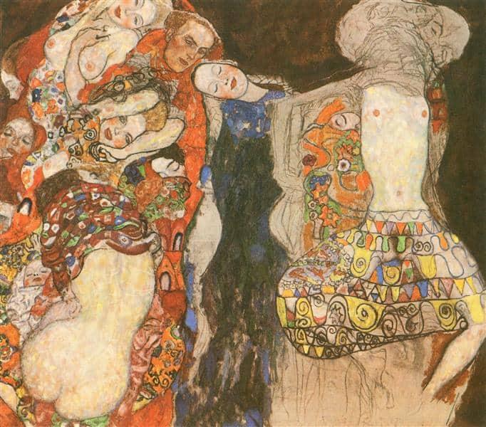 Gustav Klimt - The Bride