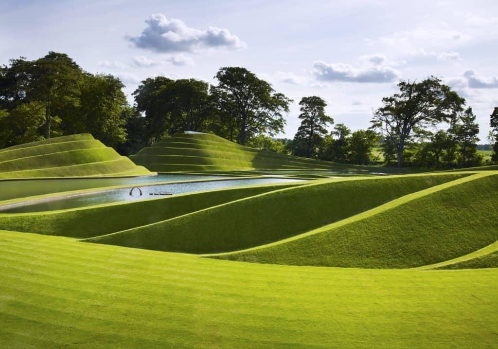 Charles Jencks, Cells of Life, at Jupiter Artland Sculpture Park