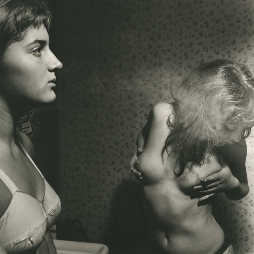 Nude photography by van der Elsken (Paris, 1951)