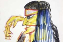 Fellini drawing for Casanova - Artland
