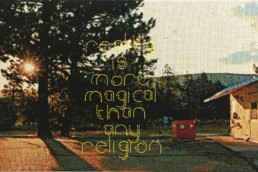 George Bolster, Reality is More Magical Than Any Religion. 2020 -Enter Art Fair.