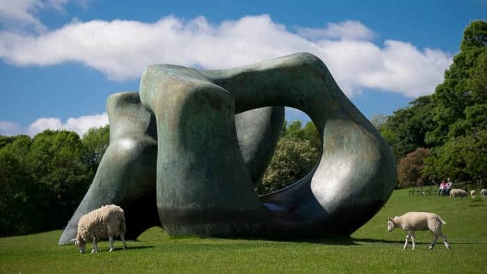 Henry Moore, Large Two Forms at the Yorkshire Sculpture Park