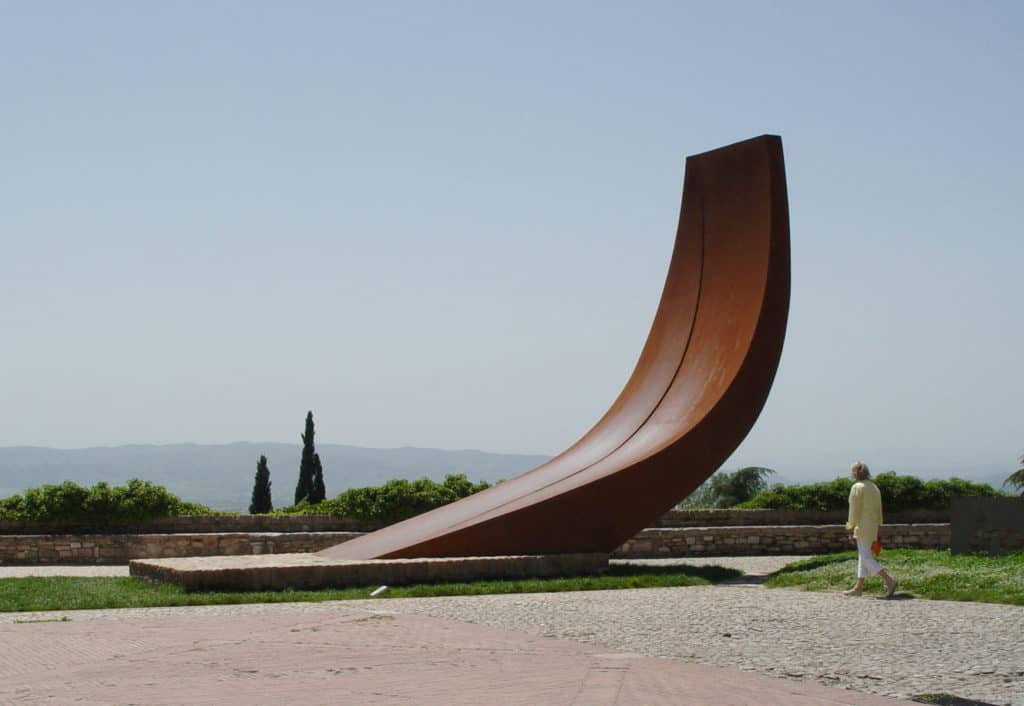 Ascensione (by Beverly Pepper), Assisi, Italy