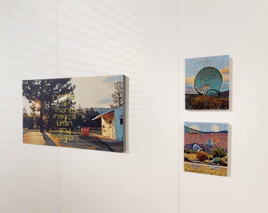George Bolster at Enter Art Fair, Installation View, Ulterior Gallery