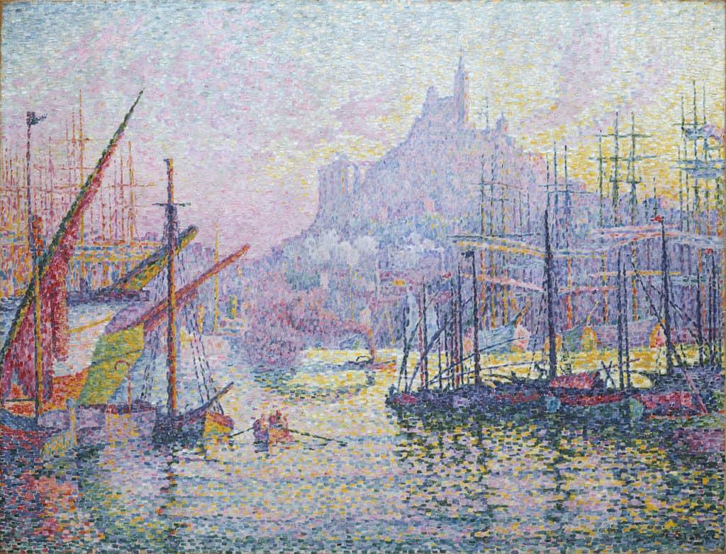Paul Signac, Port de Marseille, 1905