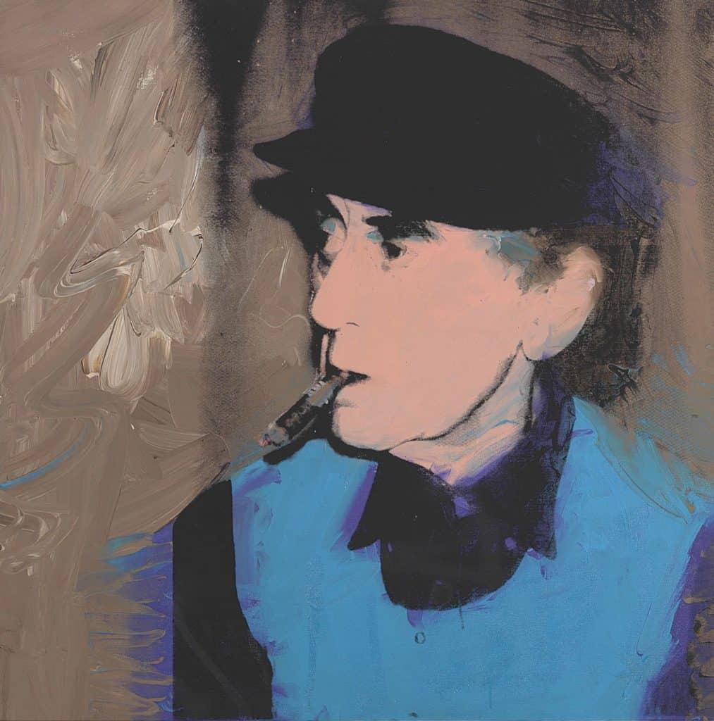 Andy Warhol, Man Ray, 1974