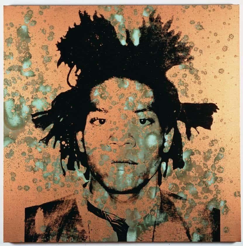 Andy Warhol Portraits: Jean-Michel Basquiat, 1982