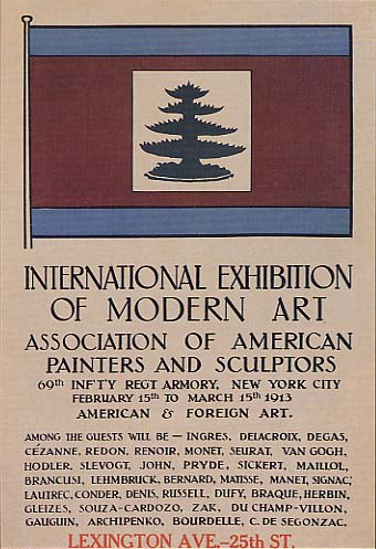 Poster of the Armory Show, New York, 1913