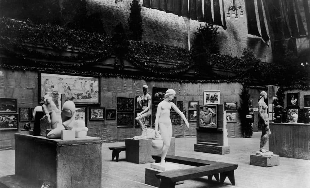 The Armory Show, New York City, 1913