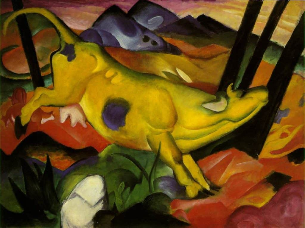 Franz Marc, The Yellow Cow, 1911