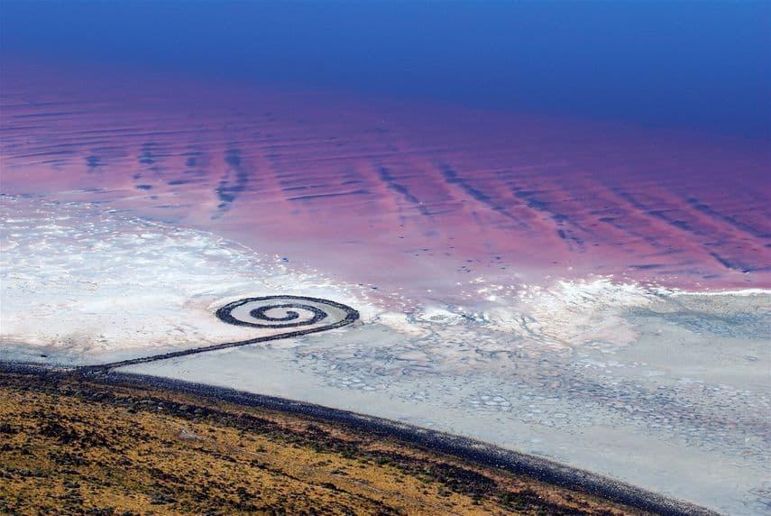 Robert Smithson, Spiral Getty