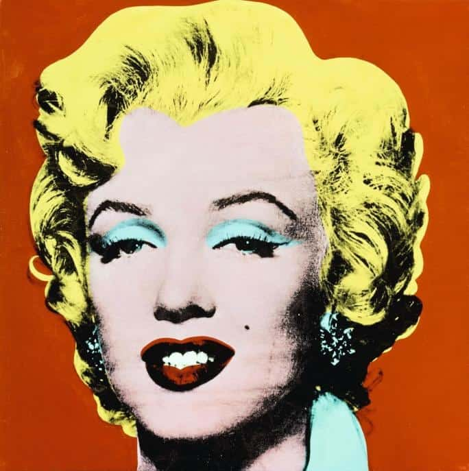 Andy Warhol, Shot Red Marilyn, 1964