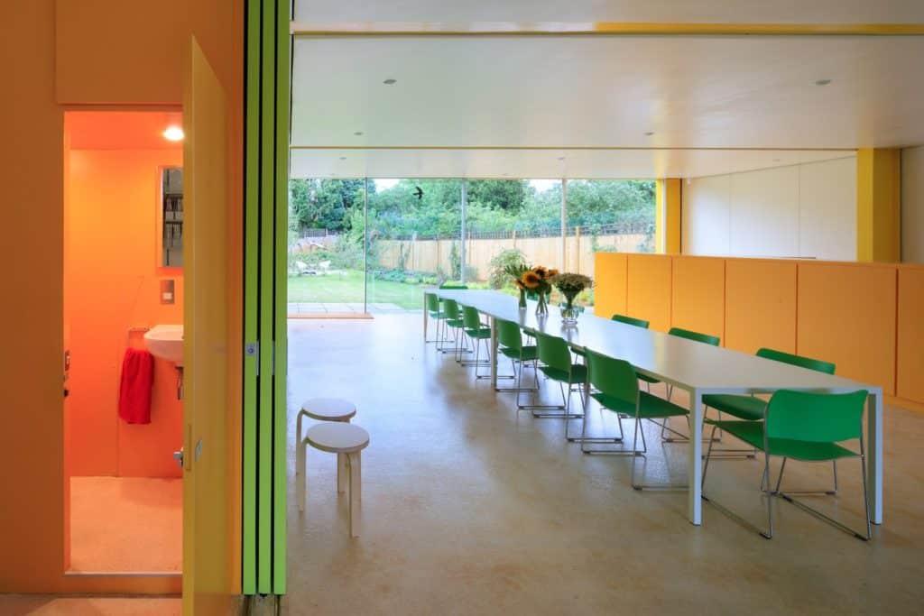 Interior of Richard Rogers' 22 Parkside