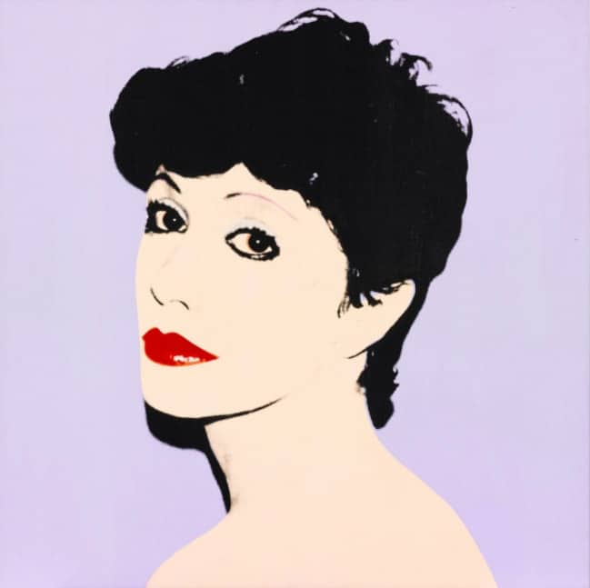 Andy Warhol, society Portrait of Susie (Lavender), 1981
