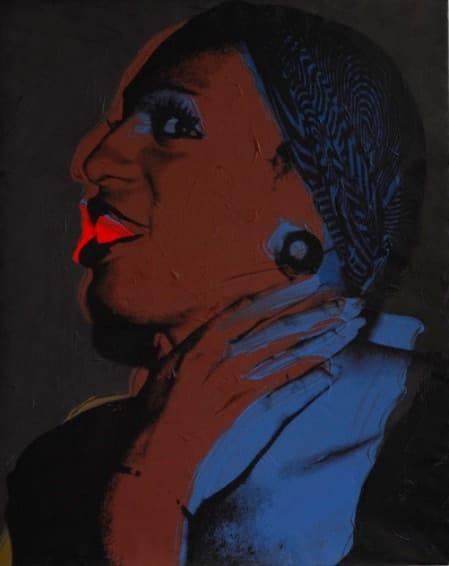 Andy Warhol, Wilhelmina Ross, 1975