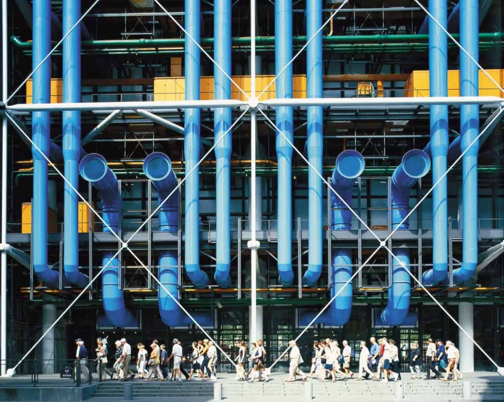 Centre Georges Pompidou by Richard Rogers