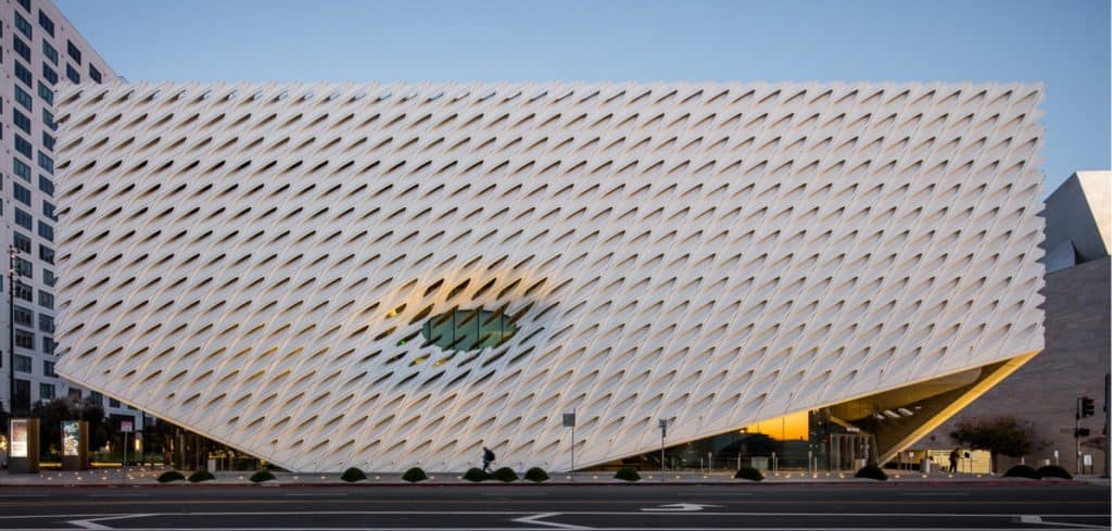 The Broad  museum architecture