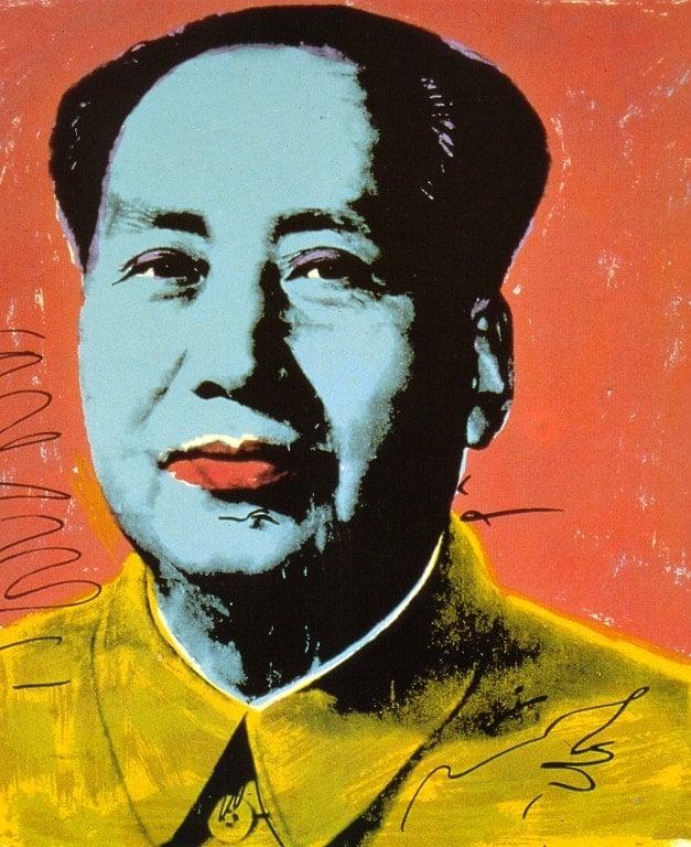 Andy Warhol, Mao, 1972