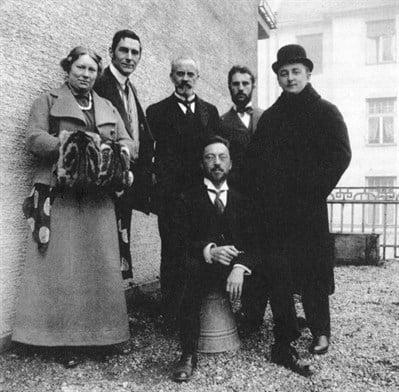 members of Der Blaue Reiter