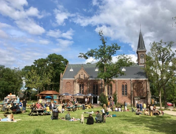 Ruigoord art colony in the Netherlands
