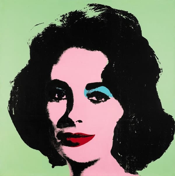 Andy Warhol Portraits: Liz Taylor, 1963