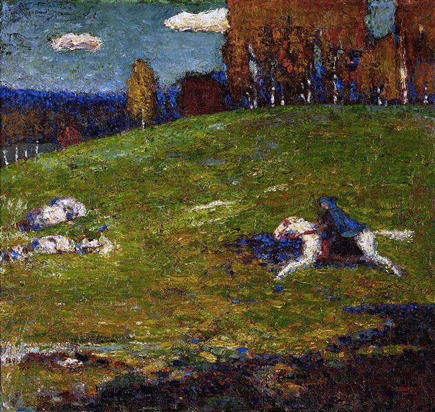 Wassily Kandinsky, The Blue Rider, 1903