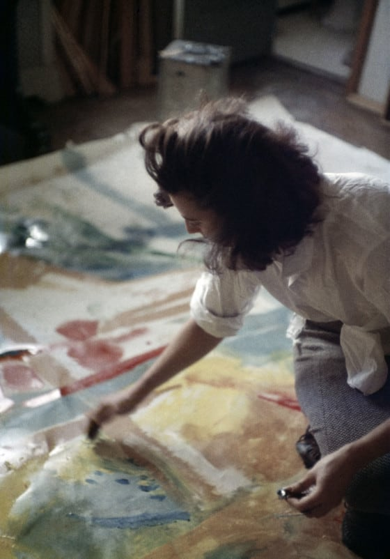 abstract expressionist studio - The Artlander
