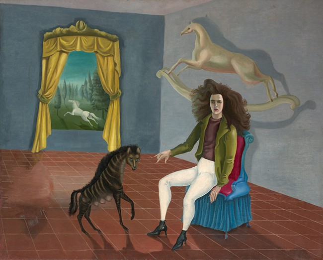 Leonora Carrington, Self Portrait, ca. 1938