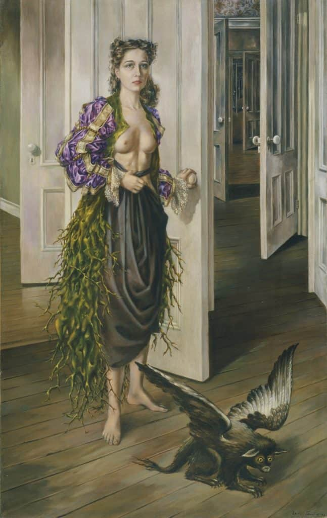 Women of surrealism: Dorothea Tanning, Birthday, 1942