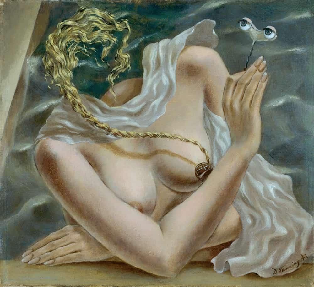 Women of surrealism: Dorothea Tanning, Voltage, 1942