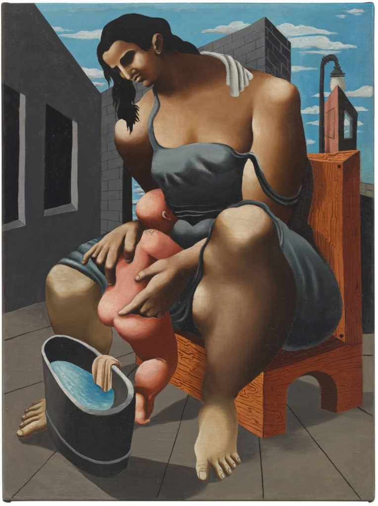 Philip Guston, Mother and Child, c. 1930