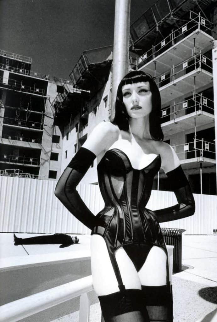Helmut Newton, Monaco, 1998