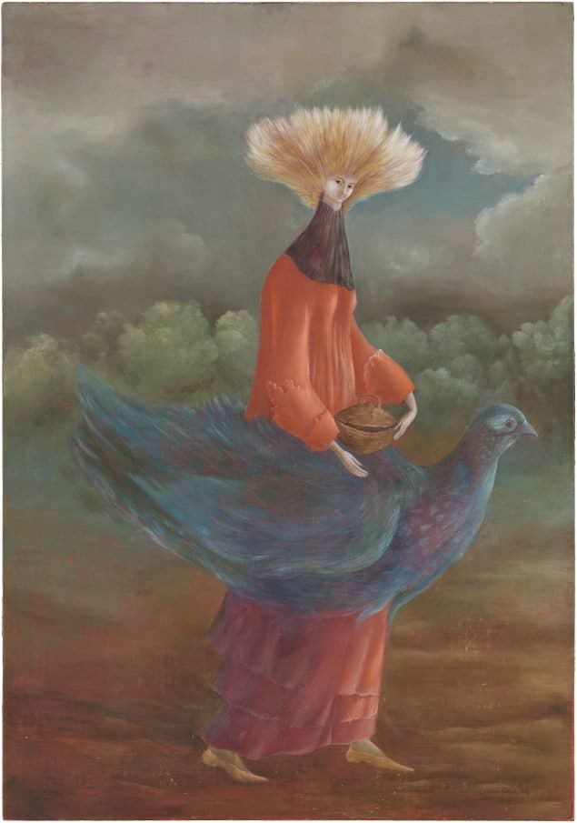 Women of surrealism: Leonora Carrington, Portrait of the Late Ms. Partridge, 1947