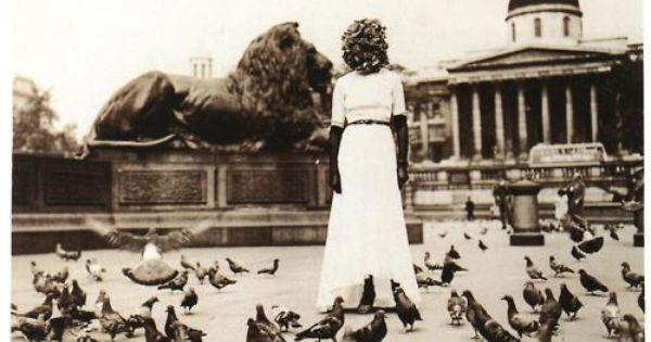 Sheila Legge, Trafalgar Square performance, 1936