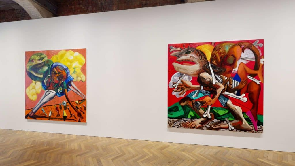 Dana Schutz, Shadow of a Cloud Moving Slowly, Thomas Dane Gallery, London