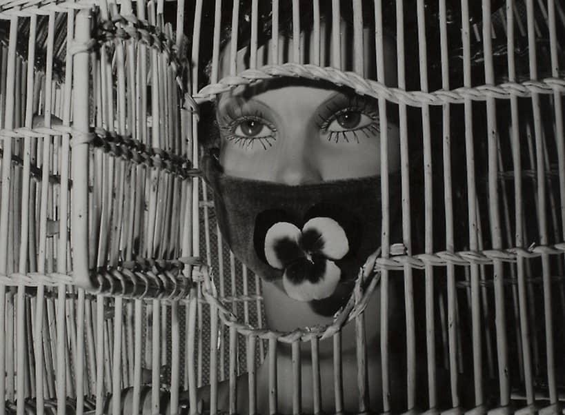 Mannequin by André Masson, International Surrealist Exhibition, Paris, 1938. Photo: Denise Bellon