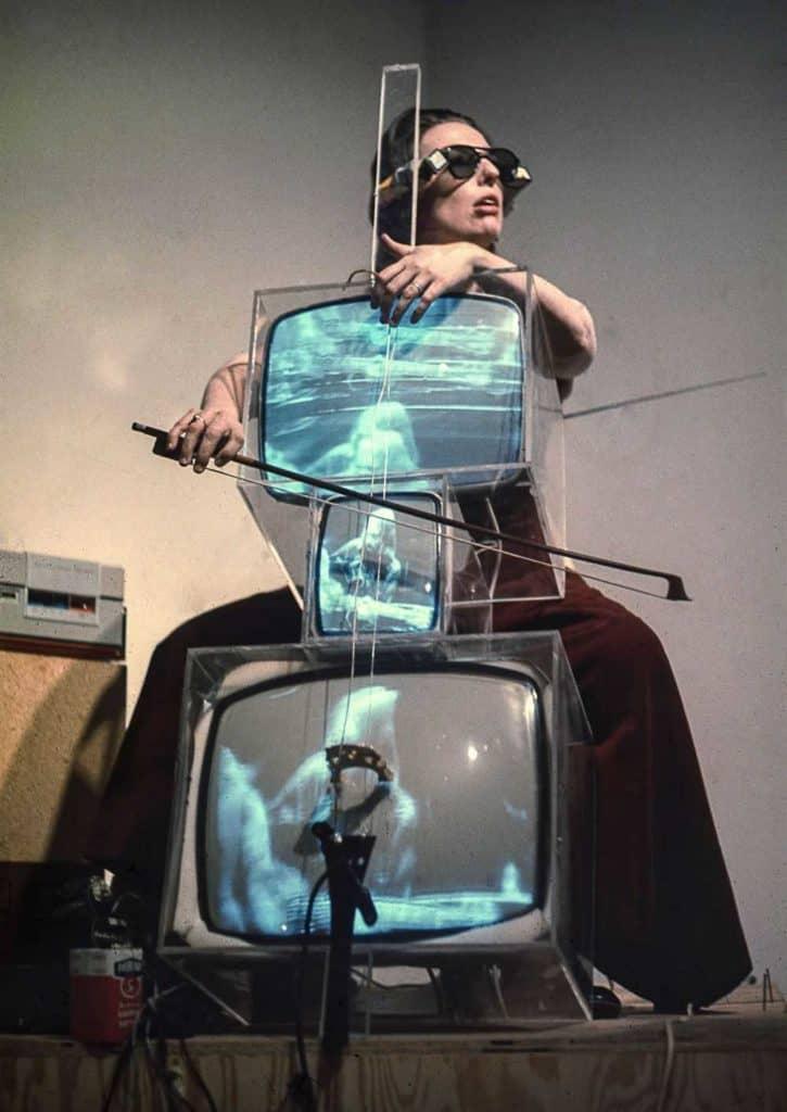 TV Cello Video art