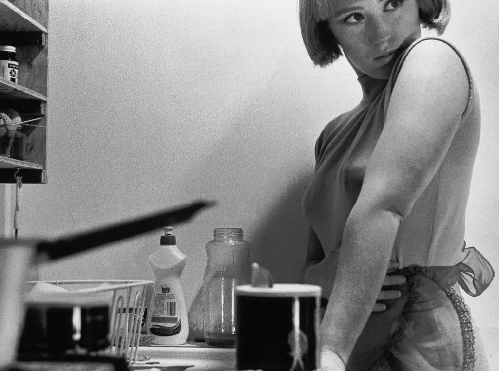 Untitled Film Still #3 by Cindy Sherman, 1977. Photograph: Cindy Sherman. Courtesy of the artist and Metro Pictures, New York