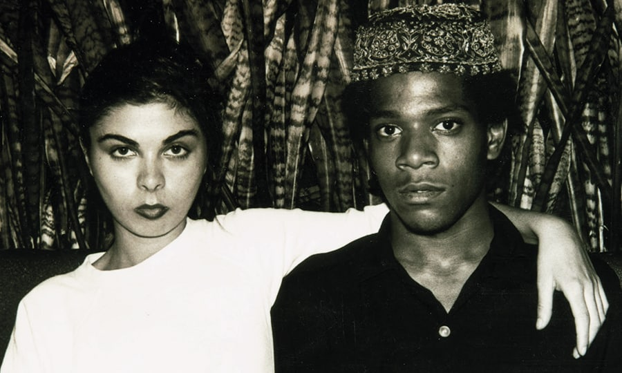 Duncan Fraser Buchanan, Jean-Michel Basquiat with Suzanne Mallouk, 1981. © Duncan Fraser Buchanan