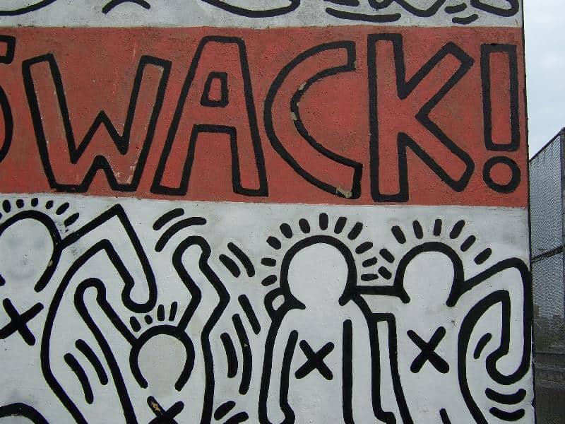 Keith Haring Crack is Wack