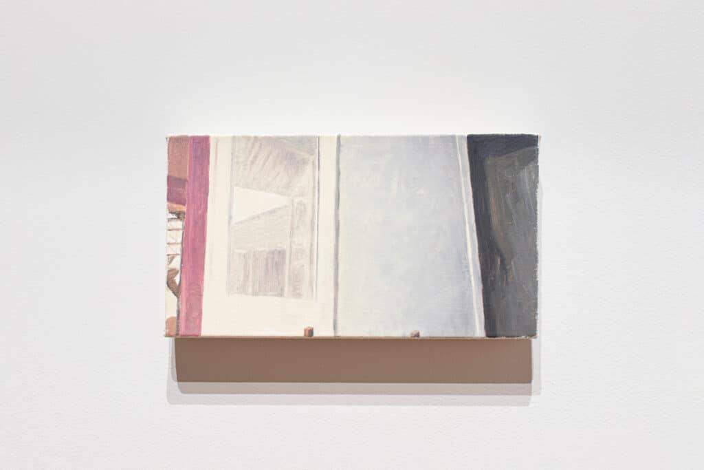 Michael Mandiberg Silver Art WK#9 Artist Cohort Show & Tell, 12:00 — 1:00 PM, May 28, 2020 (#8), 2020. Oil on canvas. Courtesy Denny Dimin Gallery.