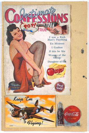 "Eduardo Paolozzi, I Was a Rich Man's Plaything, 1947. ""This is Tomorrow"""