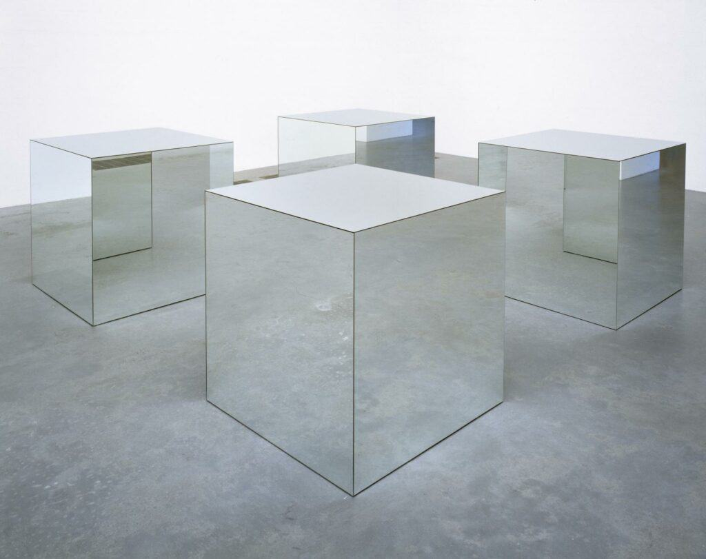 Robert Morris, Untitled, 1965, reconstructed 1971. © ARS, NY and DACS, London 2020.