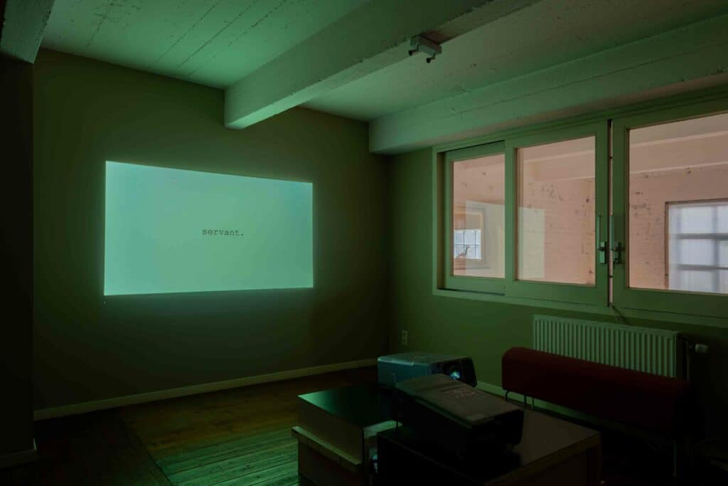 Video work on show at The Loft